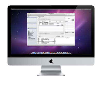 Bokföringsprogram för Mac - iMac